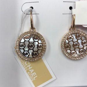 New in Box Michael Kors rose gold 🥀 drop earrings